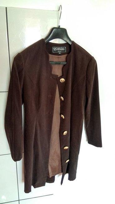 Ženska odeća | Lazarevac: Lep zenski kratki kaputic crne boje, malo koriscen. Stanje kao na