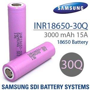 Samsung 30Q 18650 аккумулятор для вейпа, в Бишкек