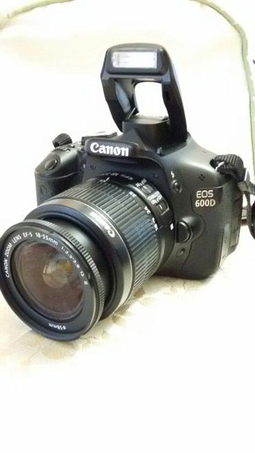 Bakı şəhərində Canon 600 d whatcap aktivdi sumka 2 gb kart batareya