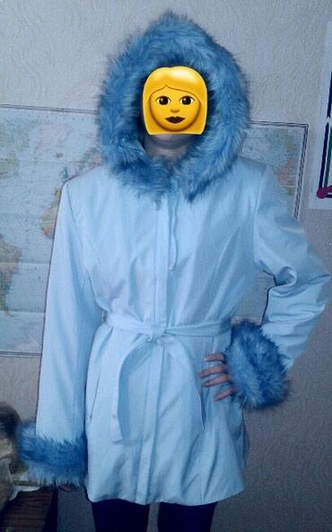Куртка теплая. Мех отстегивается. в Бишкек