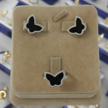 Бабочка Серебро 925 пробыДизайн ИталияРазмеры имеютсяЕсть доставкаЦена