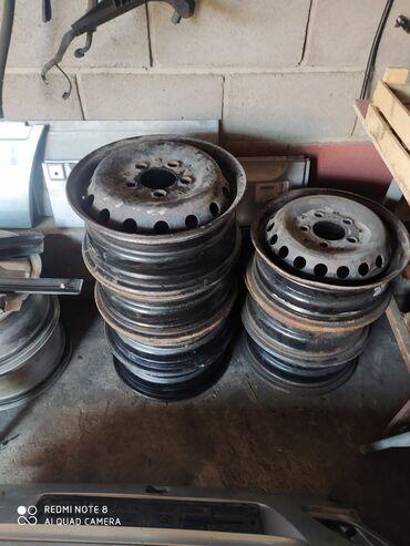 Диски на Мерседес спринтер R 15. по 800 сом привозной