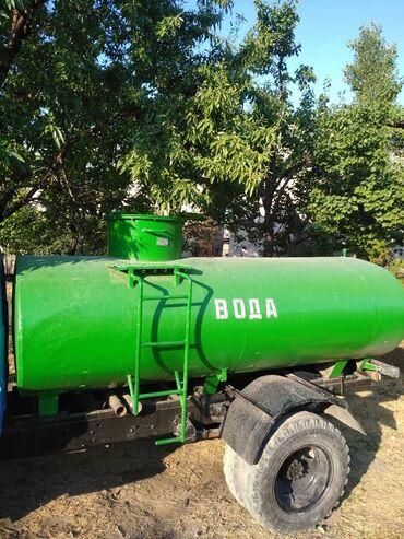 жилые вагончики бу в Кыргызстан: Продается бензовоз. Цистерна, бочка, ёмкость для воды объем 5 тонн