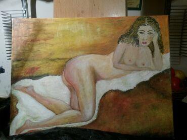 Slike   Sopot: Ulje na platnu . Bogat nanos boje . 40x30. Autorka Iv.Tel