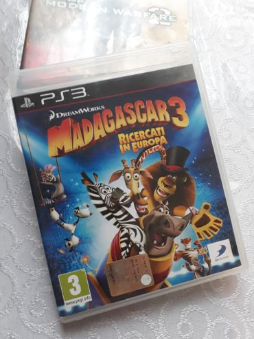 """Bakı şəhərində PS3 Ucun Tam Original Oyun Diskleri Satılır.. """" Madagascar 3 """""""