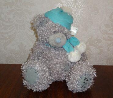 Мишка Тэдди мягкая игрушка с этикеткой 27 см
