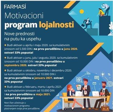 Motivacioni program za nove i stare clanove:) 33% popusta
