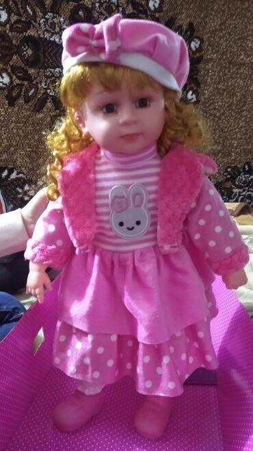 продадим куклу в Кыргызстан: Продам новую куклу говорящюю.Покупала за 1700 отдам за 1400.Ребенок не