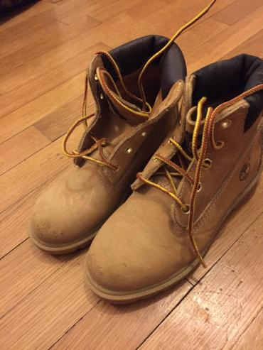 Timberland kids boots. Excellent condition, second hand ,worn few σε Βόρεια & Ανατολικά Προάστια