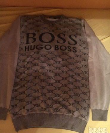 Hugo boss sivi pamucni dzemper, xl, nekoriscen Beograd
