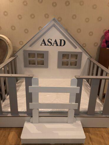 бу детские кроватки в Кыргызстан: Продаю детскую кроватку практически новую очень удобна в использо