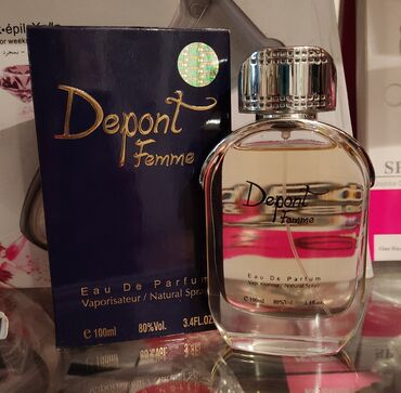 Стойкий Парфюм Depont Femme Женский  Цена 325с