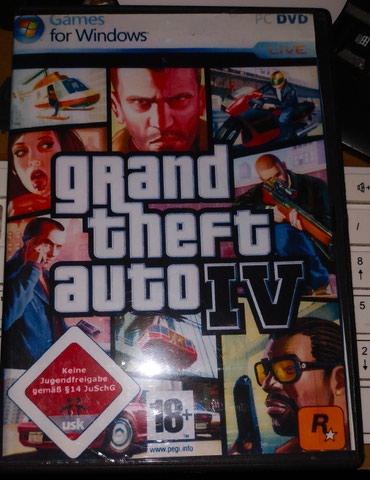 Bakı şəhərində Grand Theft Auto 4.Pc kompyuter üçün.Yenidir.Sayı çoxdur.