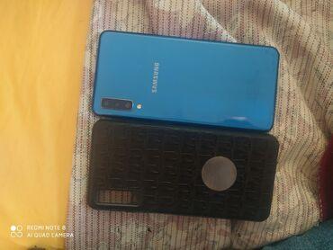 sumqayıt ev alqı satqısı 2018 в Азербайджан: Б/у Samsung Galaxy A7 2018 64 ГБ Синий