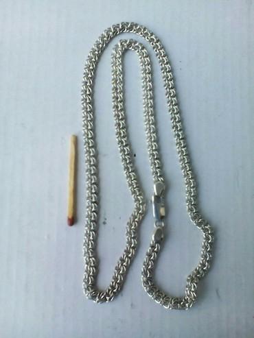 цепь серебряная в Кыргызстан: Цепь серебряная 925ппобы 25 грамм. Изготовление ювелирных изделий на