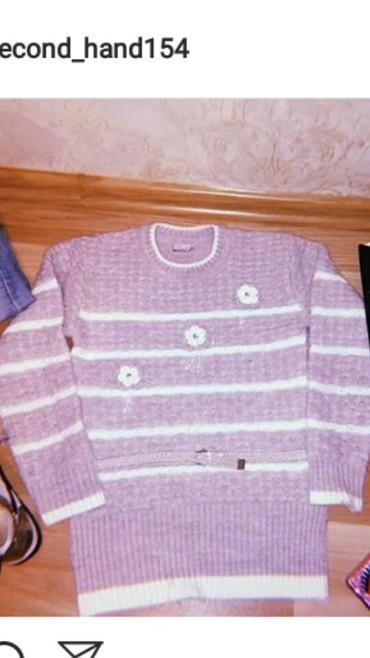 женские-серые-свитера в Азербайджан: Teze svitr 1 defe geyilib raz S