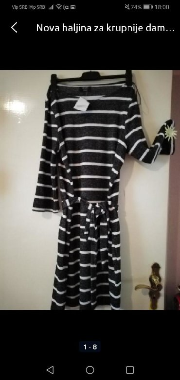 Nova haljina za krupnije dame