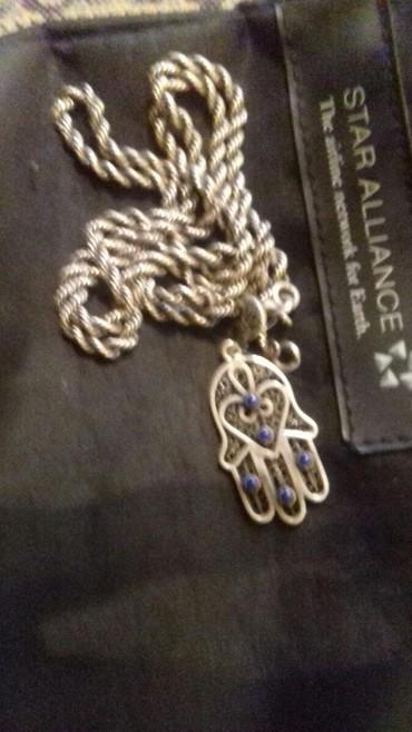 цепь серебряная в Кыргызстан: Серебряная цепь с кулоном 26 грамм: 3900 сом