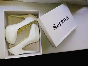 Продаю свадебные туфли, одевала пару часов на свадьбе, размер 35 в Бишкек