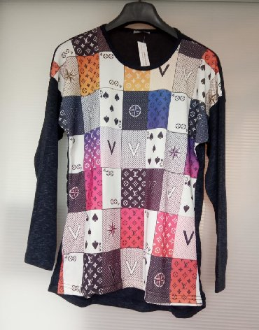 Od viskoze - Srbija: Nova bluza od viskoze, univerzalna veličina do xxl.Uvoz iz Turske.Od