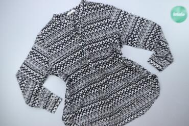 Чоловіча сорочка вільного крою з абстрактним принтом, р. XXL   Довжина