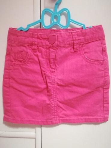 Next mini suknjica u pink boji, vel 110 (5y), ima lastis sa - Belgrade