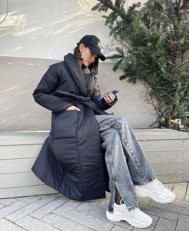 Куртки - Бежевый - Бишкек: Женская осеняя куртка