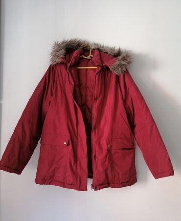 Made in Italy bordo jakna za zimu bez ostecenja.Vel jači