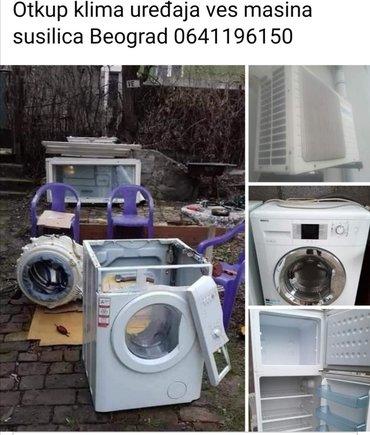Beko ves masina - Srbija: Otkup klima uređaja ves masina susilica frizidera u beogradu