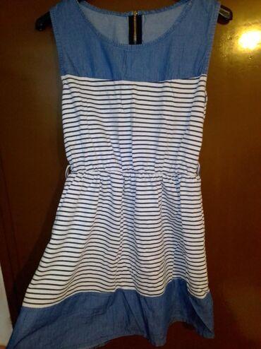 Lagana letnja haljinica,dužina iznad kolena,univerzalne veličine