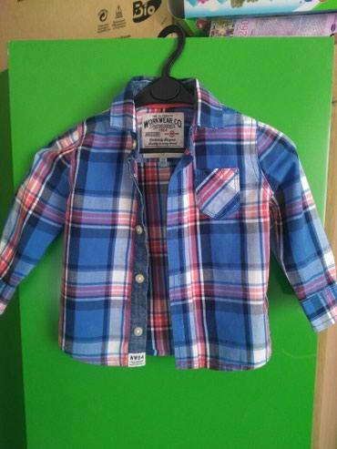 Детская модная рубашка. Размер 12-18 в Бишкек