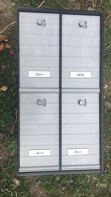 Сейфы - Кыргызстан: Продаю металлические ящики с кодом. Можно под сейф ячейки, почтовый