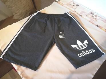 Nove muske pamucne bermude Adidas. Turske. Vrlo dobre muske pamucne - Belgrade