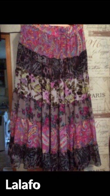 летнее платье 48 размера в Кыргызстан: Юбка в идеальном состоянии, расклешонная, подходит на несколько
