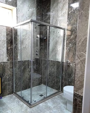 duş üçün gellər - Azərbaycan: Dus kabinler hazirlanir