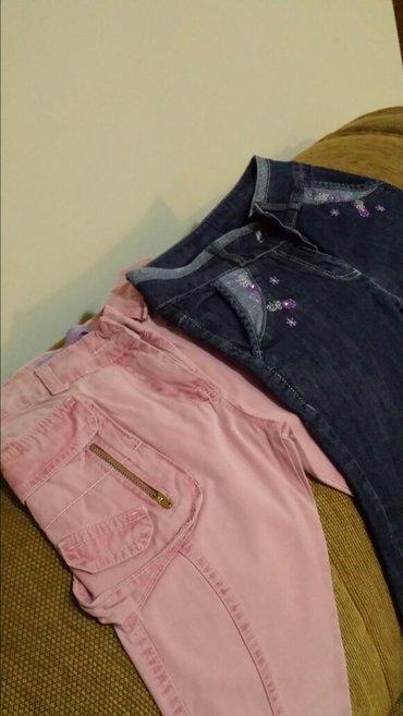 Pantalone za devojčice, markirane, malo nošene, bez oštećenja - Velika Plana