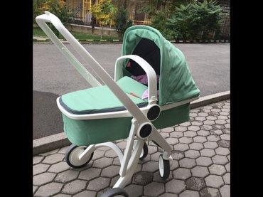 Продаю коляску greentom 2 в 1, люлька и в Бишкек