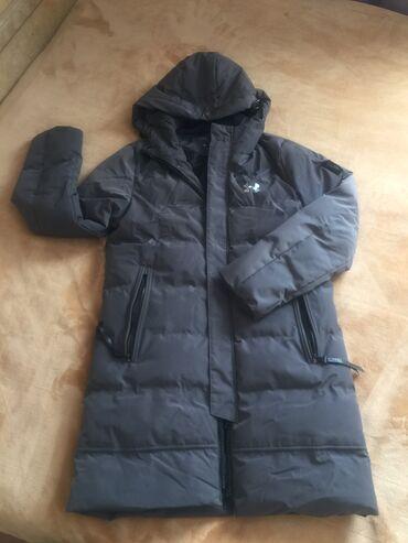 Куртки - Кыргызстан: Мужская удлинённая тёплая куртка. Б/у в отличном состоянии.Размер Л. Н