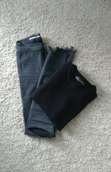 *zara* knit sweaters 30% vuna 👑  intezivno crne boje, brenda zara in Novi Sad
