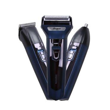 Бритва-триммер Gemei GM-566 3 в 1: машинка для стрижки волос носа