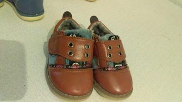ботильоны летние в Кыргызстан: Детская обувь на мальчика. размер коричневый 21р.100сом летние