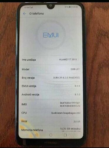 Elektronika - Paracin: Huawei y7 2019