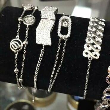 Самые красивые браслеты Серебро 925 пробы от 500 до 1000Количество