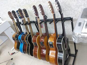 Гитары - Азербайджан: Gitaralar Mikrafonlu Klassik və Akustik Gitara hər formadaYeni Gitara