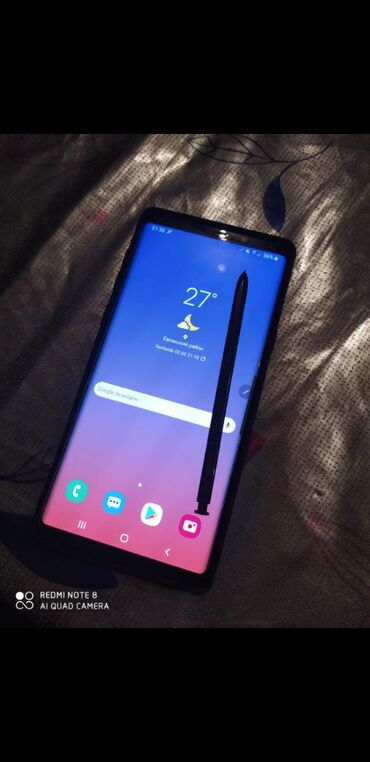 İşlənmiş Samsung Galaxy Note 9 128 GB qara