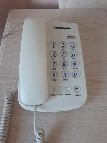 """Электроника - Бает: Стационарный телефон """"Panasonic """", требуется небольшой ремонт. В"""