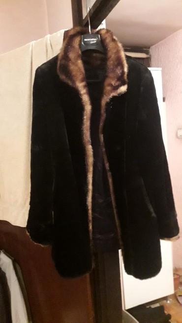 Moderna kratka bunda - Srbija: Bunda vestacko krzno izuzetna br l nova izgleda kao pravo krzno
