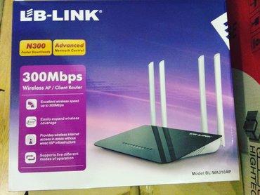 Lb-Link 4antena Router 40aznİşləməyinə 3ay zəmanət verilir.Metrolara