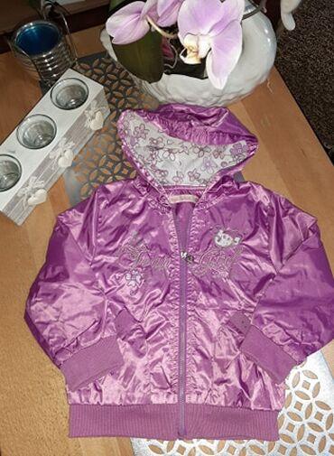 Dečija odeća i obuća | Kraljevo: Prolecna jaknica, suskava, nepromociva. 400 dinara