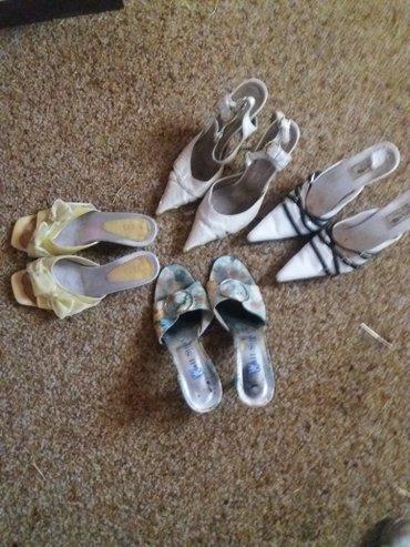 Ženska obuća | Vrnjacka Banja: 4 para letnje obuce vrlo malo noseno. sve su velicina 36